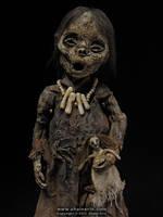 Mummy Sculpture  M32 Detail by shainerin