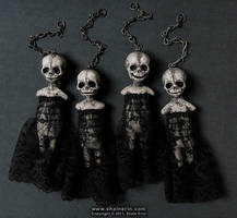 Harbinger Art Doll Ornies by shainerin