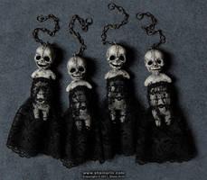 Harbinger Art Doll Ornies 2 by shainerin