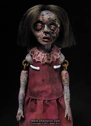 Lindsey - Zombie Art Doll by shainerin