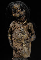 Mummy Sculpture M38 by shainerin
