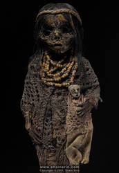 Mummy Sculpture M39 by shainerin