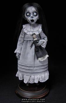 Christina Ghost Art Doll Figurine