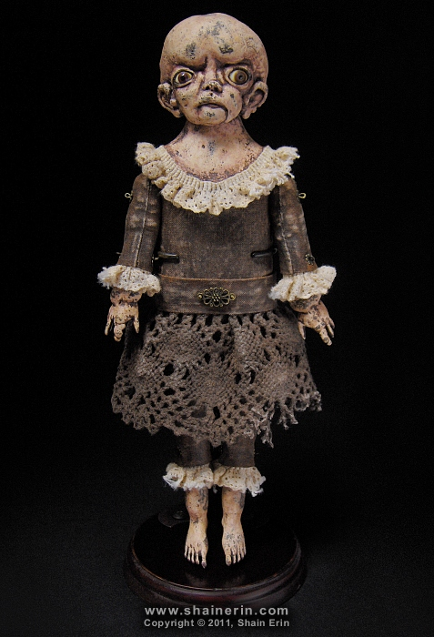 Amberlyn, Exquisite Monster Art Doll by shainerin