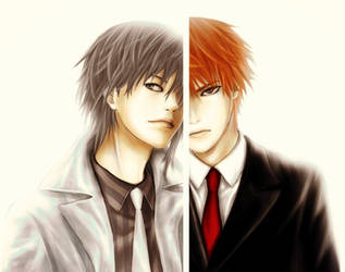 Yuki and Kyo Sohma by maria4art