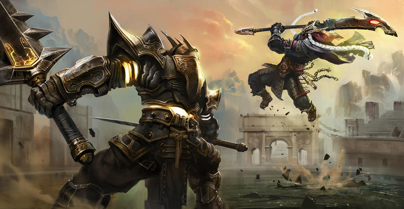 warriors by KEKSE0719
