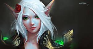 Ehri Skywing (blood elf) by KEKSE0719