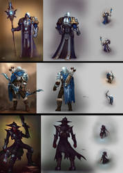 character design for [huan zhan] 2 by KEKSE0719