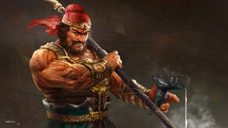 Three Kingdoms 2017 - Zhang Fei