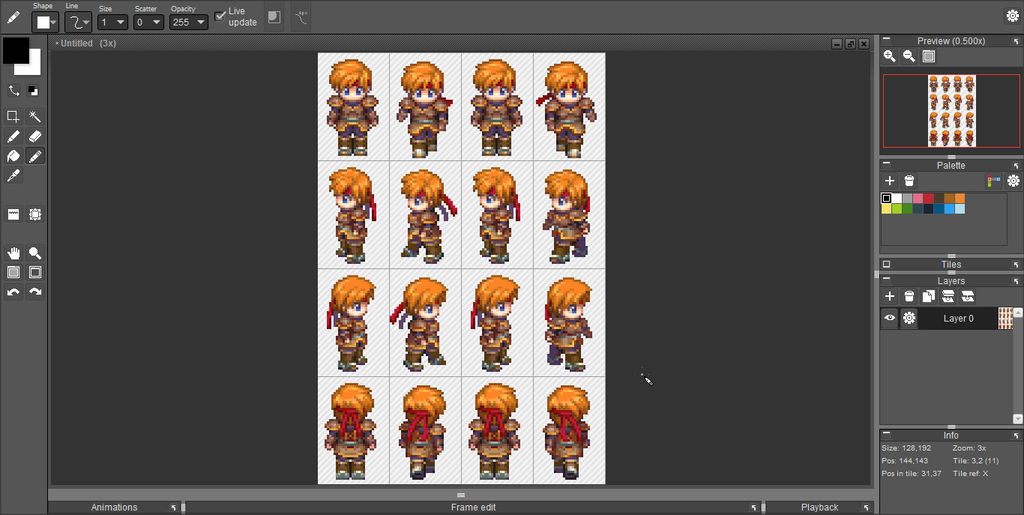 RPG Maker XP Sprites Dimensions by DraconianRain on DeviantArt