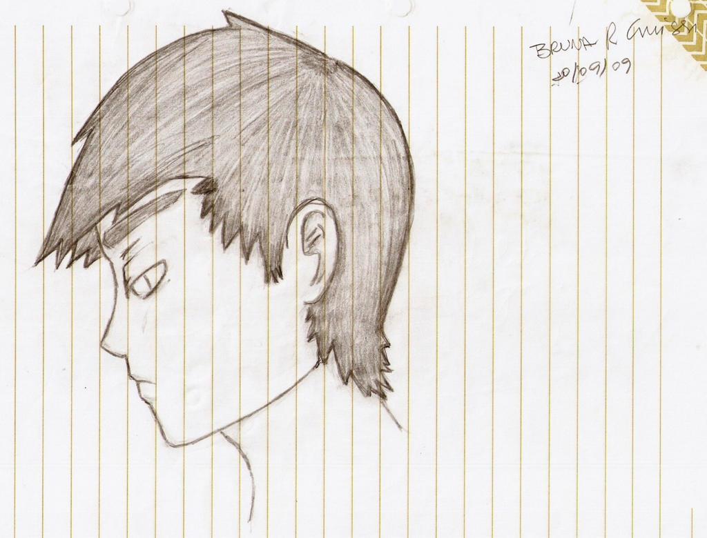 How To Draw Sad Boy