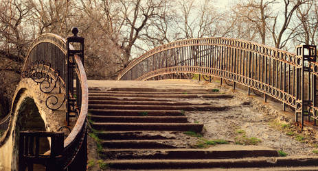 Sunny Old Bridge STOCK
