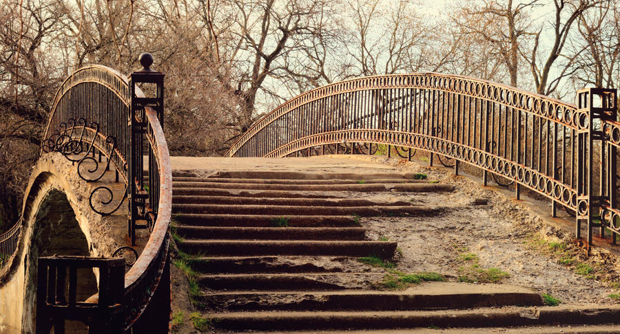 Sunny Old Bridge STOCK by JessicaDobbs