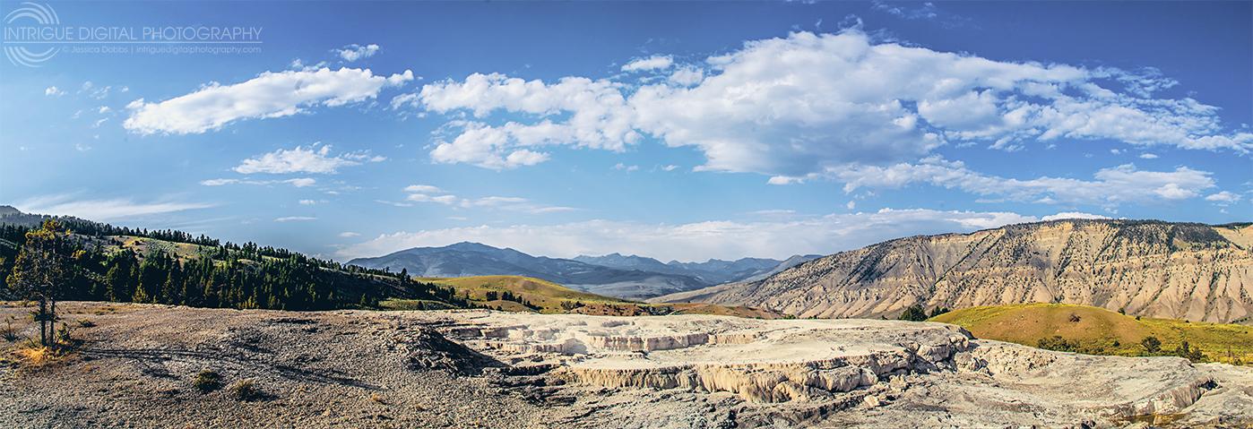 Mammoth Panoramic View by JessicaDobbs