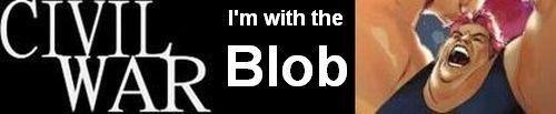 The Blob - Civil War Banner by Big-Ogre