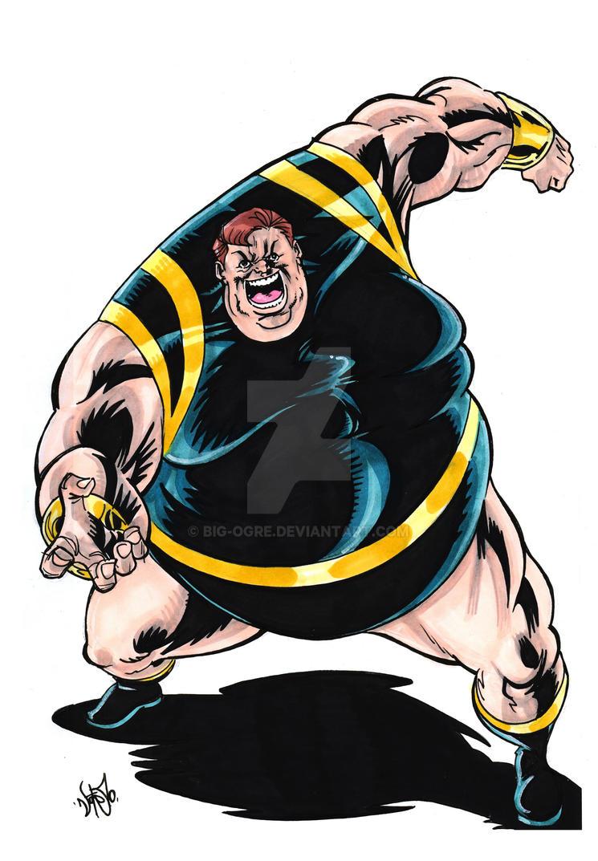 The Blob - Evil Mutant Menace by Big-Ogre