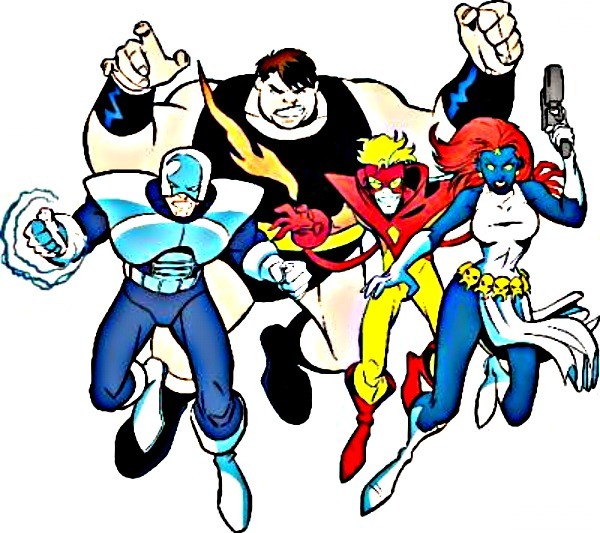 The Evil Mutants Brotherhood by Big-Ogre