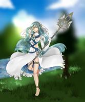 Fire Emblem Azura by SolesteiaArt