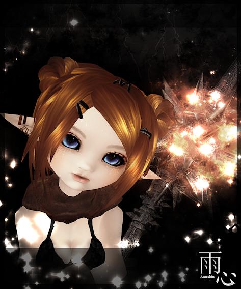 Elf Warrior by ameshin