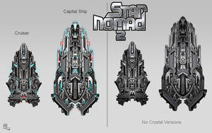 Star Nomad 2 New Ships
