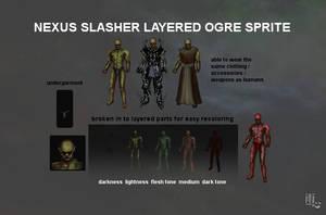 Nexus Slasher Ogre Static Sprite