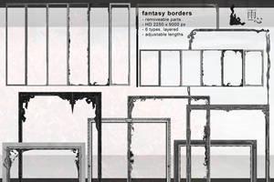 Fantasy Map Borders