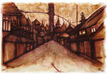 Ameshin's Art: Restless: Coffee Town