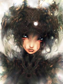 Ameshin Art   Dark Fantasy Steampunk Android