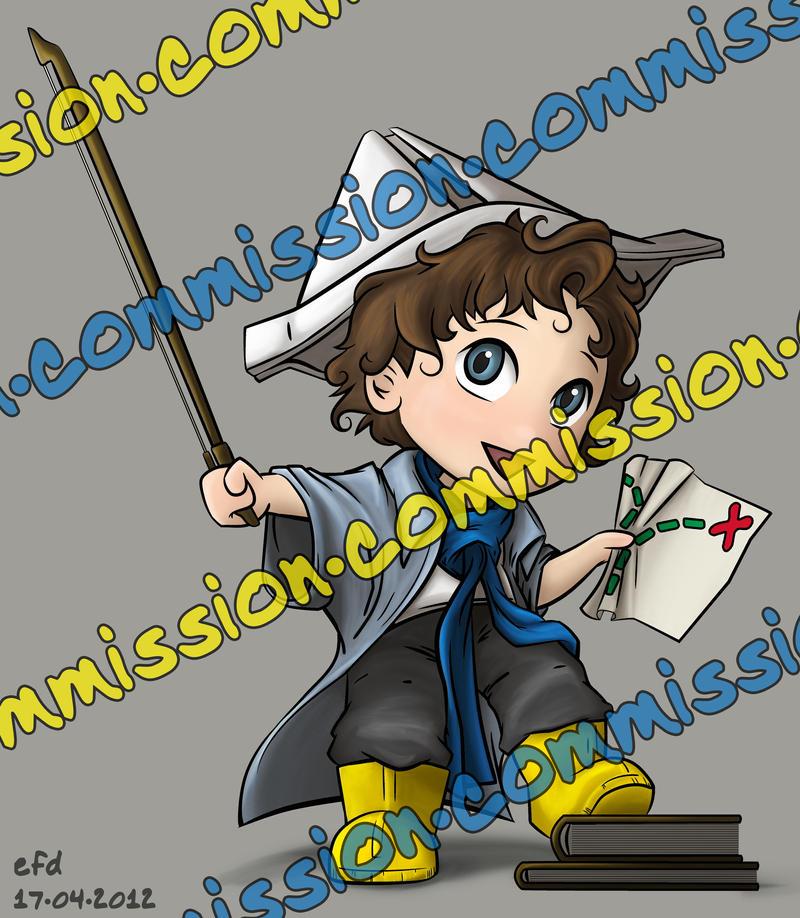 Ahoy, Sherlock the Pirate! by crushing83