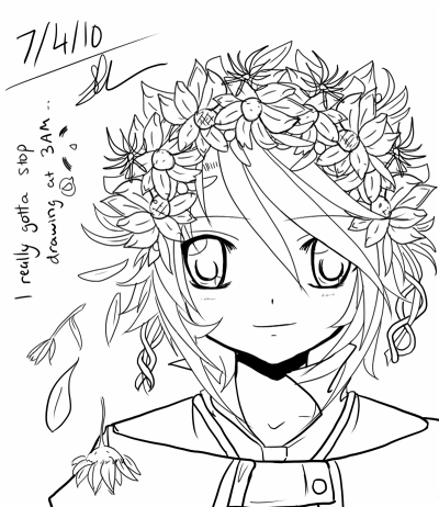 Flower crown by nyaron
