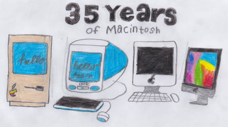 35 years of Macintosh by ricol-wildcat