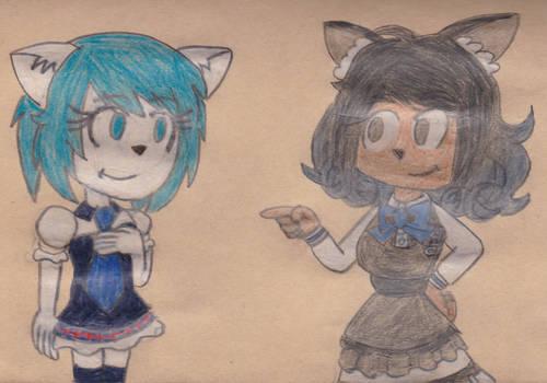 Wolfychu and B-chan