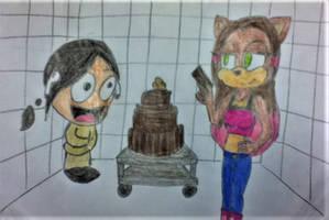 Happy Birthday McMorbid and Glory by ricol-wildcat