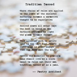 Meme - Tradition Tossed