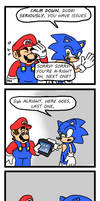 Mario and Sonic: Going 3rd-Party (Part 9)
