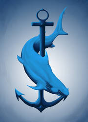 Shark by Siminin