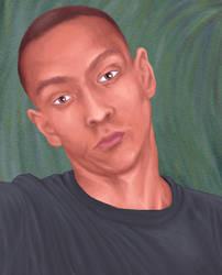 Portrait1 by Siminin