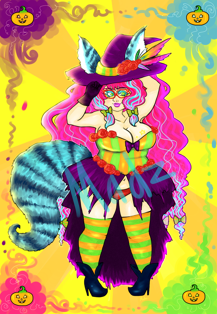 Eye Candy Witch Adopt (open) by MadzSan