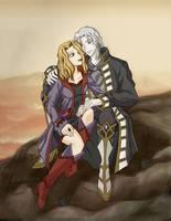 Daryl and Setzer by Maye1a