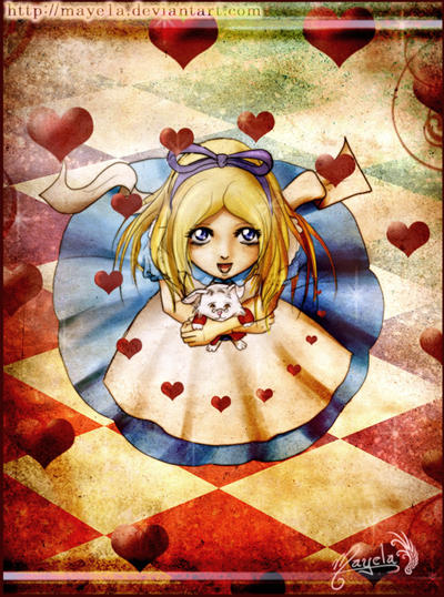 Alice in Wonderland by Maye1a
