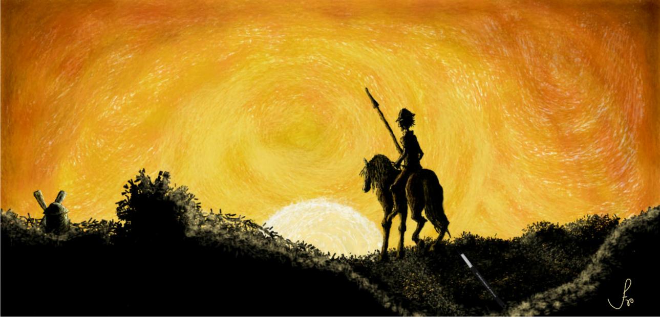 Don Quijote Desdichado by FranRomano