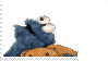 STAMP - Cookie Monster ate my stamp !! by DotEXEgloogli