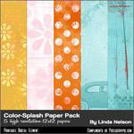 Pixelberrypie Color-Splash Paper by pixelberrypie