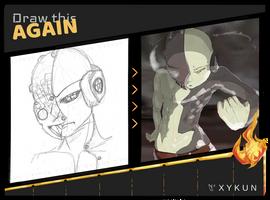 kHrn - First Sketch by Xykun