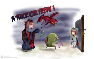 Dragon Nest Halloween Fanart ! by Xykun