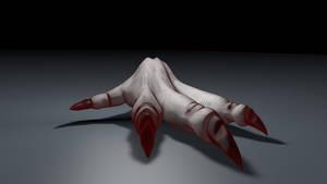 Velocirex Hand by Xykun