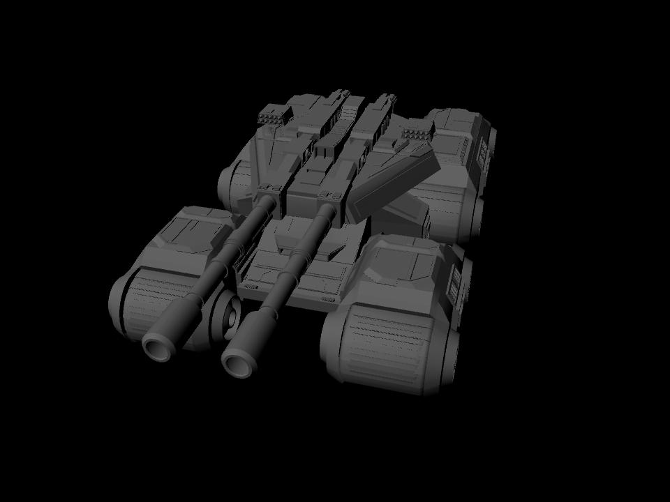Mammoth Tank Wip 3 by Luciain