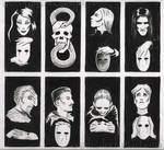 HP: Deatheater Cards