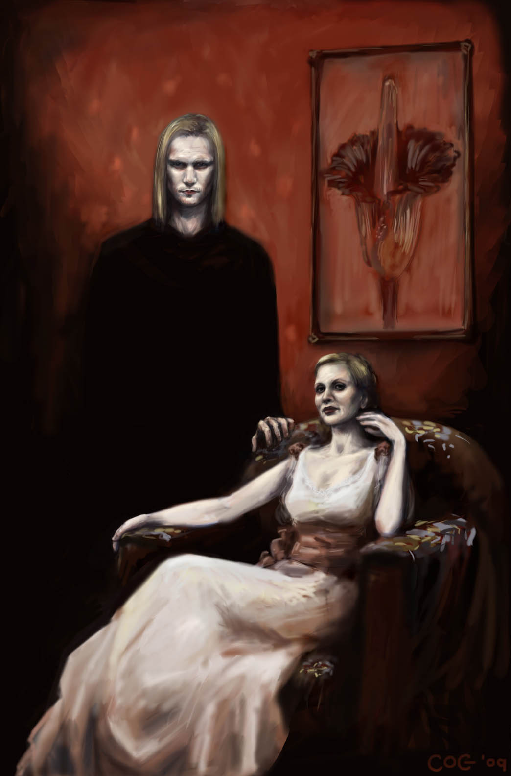 True Blood: Eric and Pam by cogdis