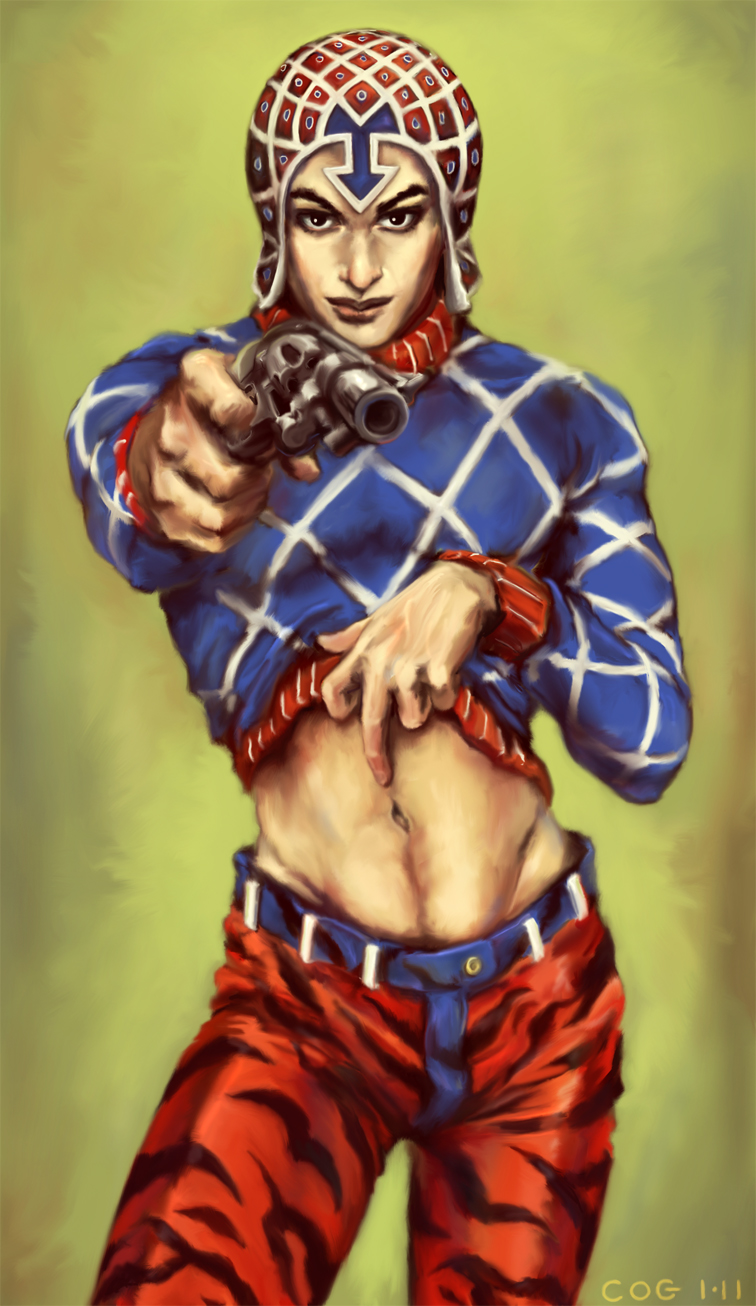 JJBA: Guido Mista by cogdis